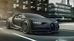 Bugatti Chiron Noire 2020