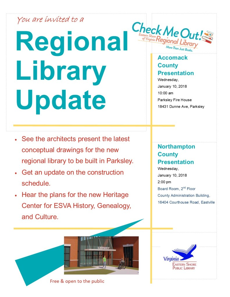 Regional Library Update meeting
