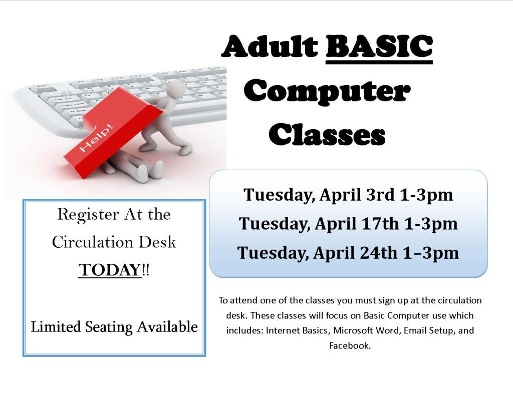 April computer classes