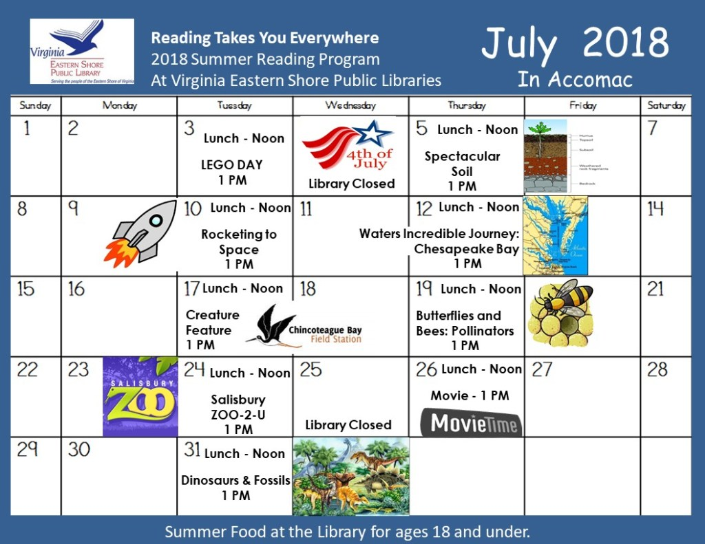 summer reading programs 2018