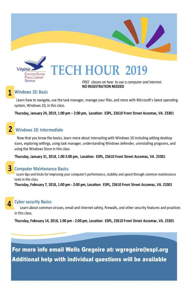 Tech hour topics