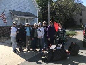 Members from the Northampton County Chapter of the DAR