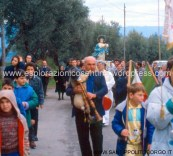 Processione dell'Immacolata.1 - 8 dicembre 1988