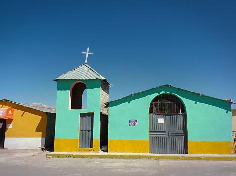 Chiesetta sulle Ande, Patahuasi, Perù