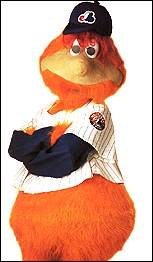 Youppi! was a casualty when the Expos left Montreal. Will the same happen to Teddy???