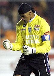 Miguel Calero, portiere del Pachuca. Un suo grossolano errore portò alleliminazione prematura del Pachuca alla scorsa edizione del Mondiale per Club