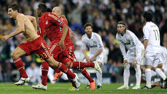 Real Madrid vs. Bayern Munich