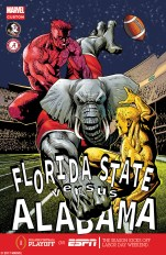 Florida State vs Alabama on Sept. 2, 2017