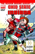 Ohio State vs Indiana on Aug. 31, 2017