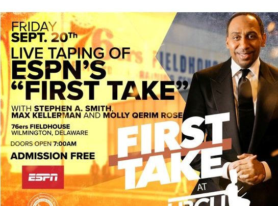 stephen a smith first take live from