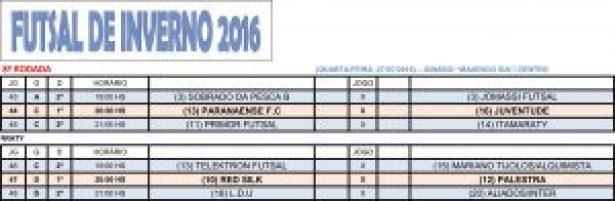 Tabela Futsal 2016_Rodada8