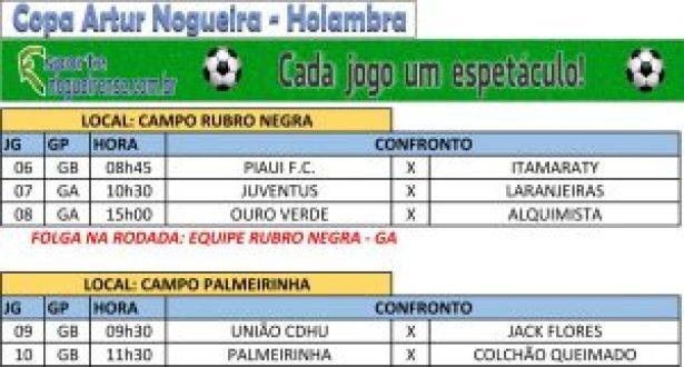 Copa Artur-Holambra - Segunda rodada_d