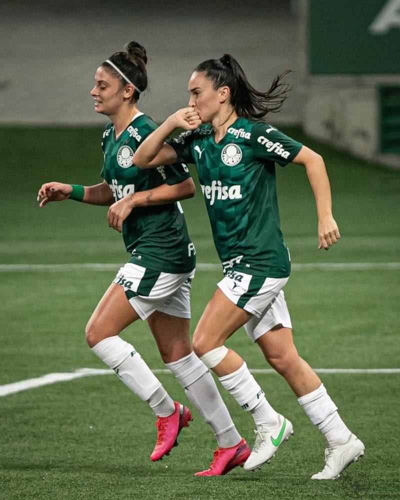 Zagueira foi destaque do Palmeiras na partida