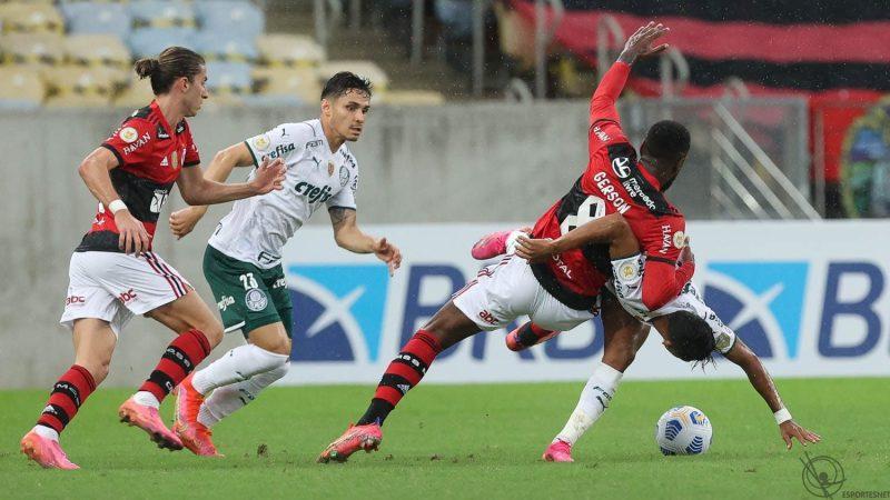 Flamengo e Palmeiras - César Greco