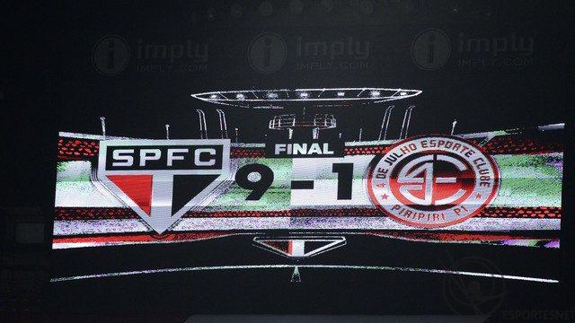 São Paulo goleia na Copa do Brasil