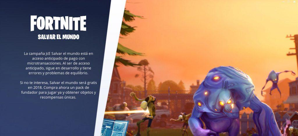 Salvar El Mundo Retrasa Su Lanzamiento Gratuito A 2019 Fortnite