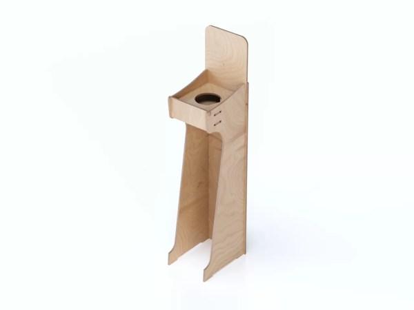 Mobile in legno per dosatore gel igienizzante Kit_Small