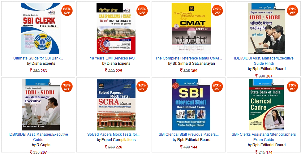 Buy your College and Competitive exam Books Online