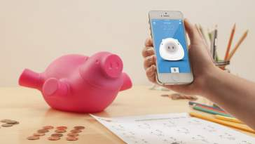 World's smartest Piggy Bank
