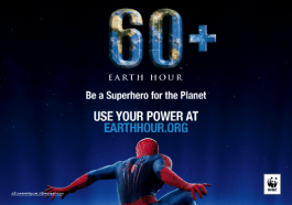 EarthHour 2014 Spider Man