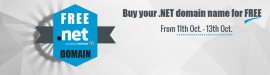 .net domain at free of cost
