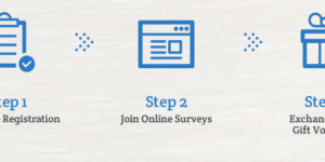 Earn Points for Surveys & Exchange with popular Brand Name Vouchers