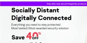 Save 40% on your Favourite Antivirus Security Solution