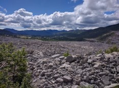 The boulder field. Pictures don't really due it justice.