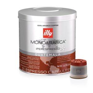 21 κάψουλες illy iperespresso GUATEMALA MONOARABICA