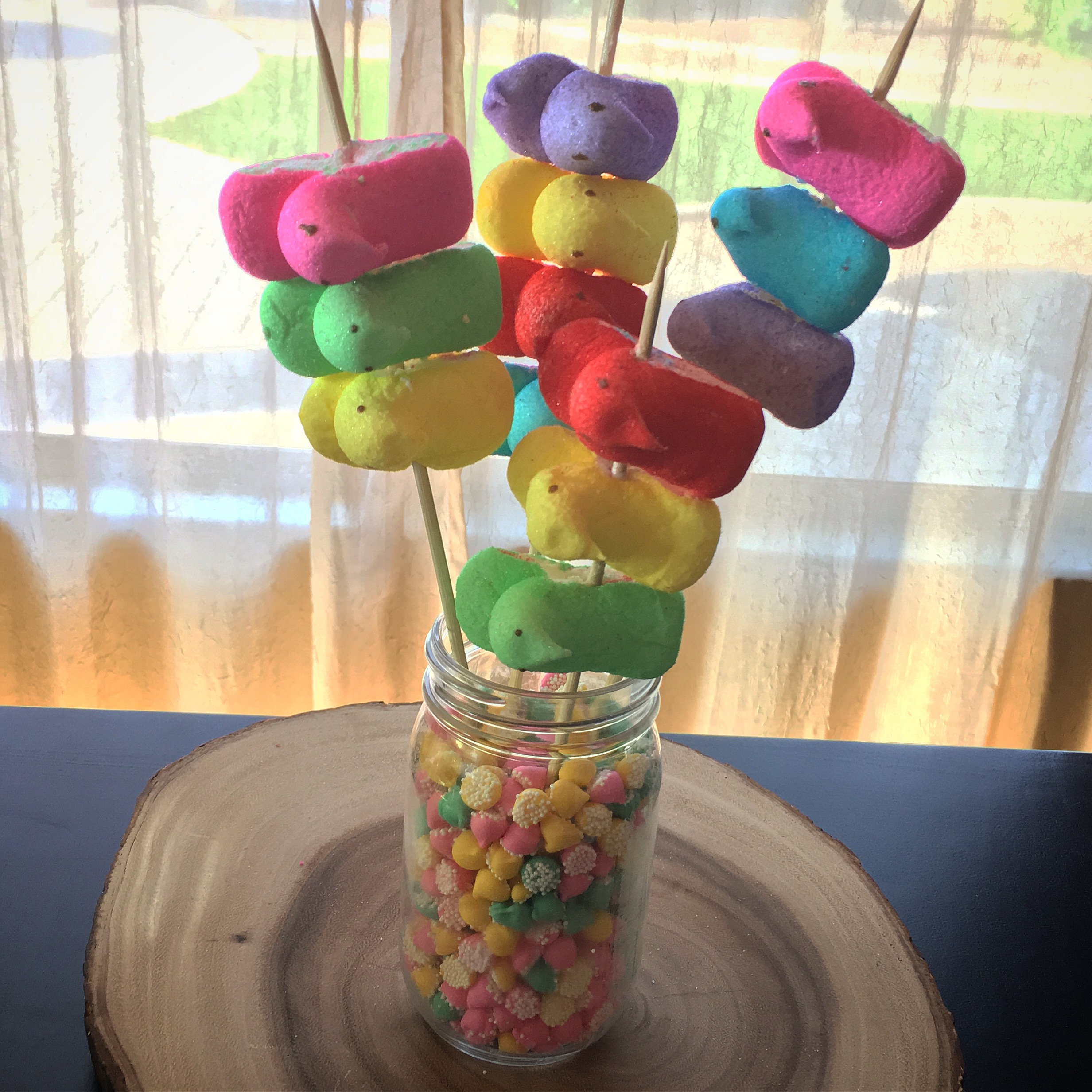 PEEPS KABOBS - Espresso Ever After | A Mommy Life + Style Blog