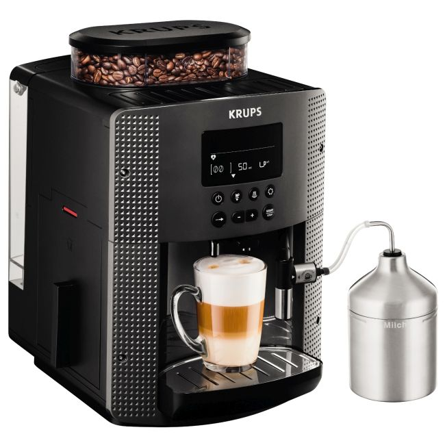Espressor automat Krups Espresseria Automatic EA816B, 1450W
