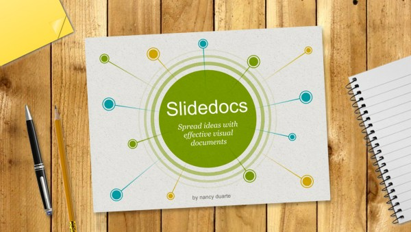 Slidedocs. Spread ideas with effective visual documents, Нэнси Дуарте