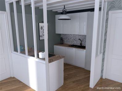 Rénovation maison ancienne / cuisine