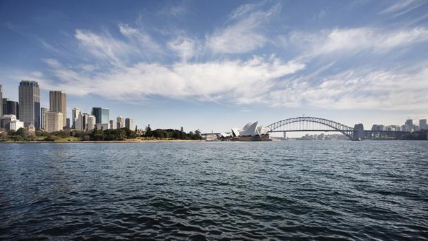 Vue du port de Sydney