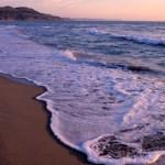 Une plage en Italie