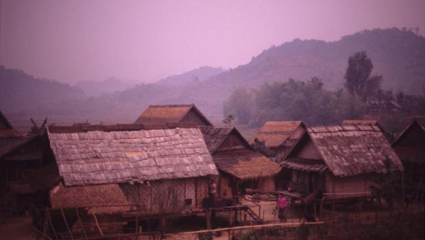 Village d'asie