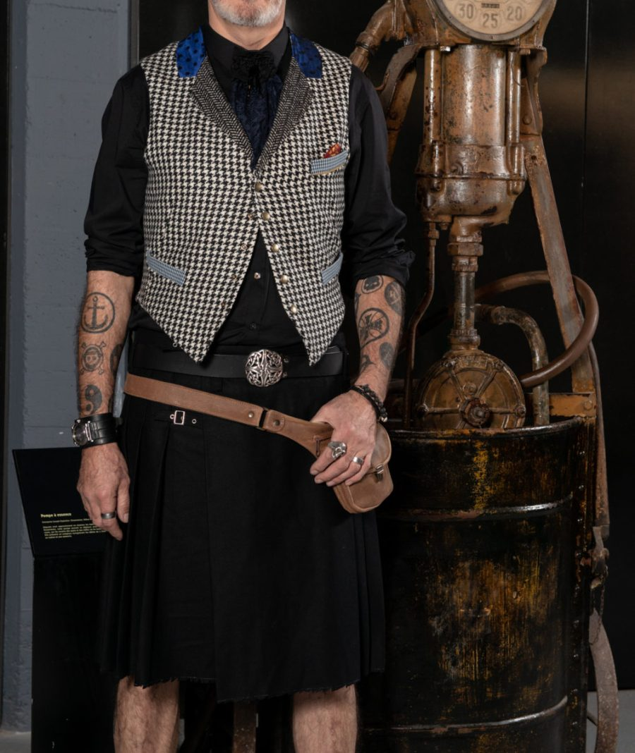 Gilet de costume pour Homme ©Arnaud Carette
