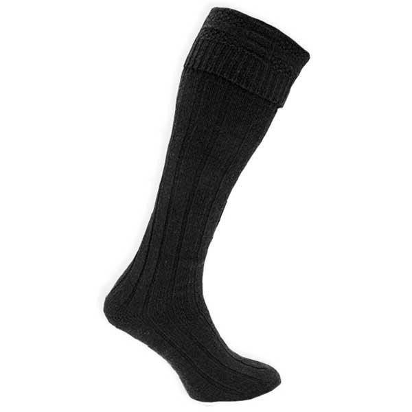 chaussettes hautes pour kilt