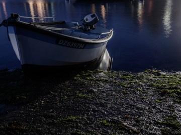 "Photographie ©Arnaud Carette ""Soleil-bleu"" port-Rhu"" Douarnenez"