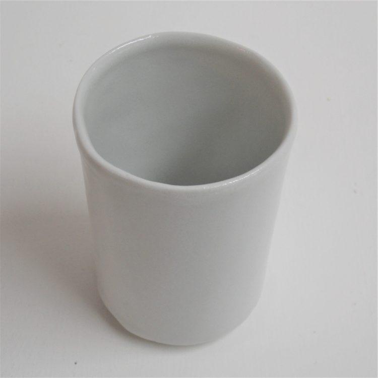 Gobelet à Café Blanc Mat en Coffret de quatre
