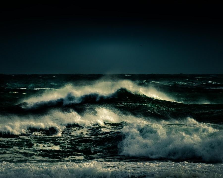 photographie Hocine Saad / Les vagues émeraude 4