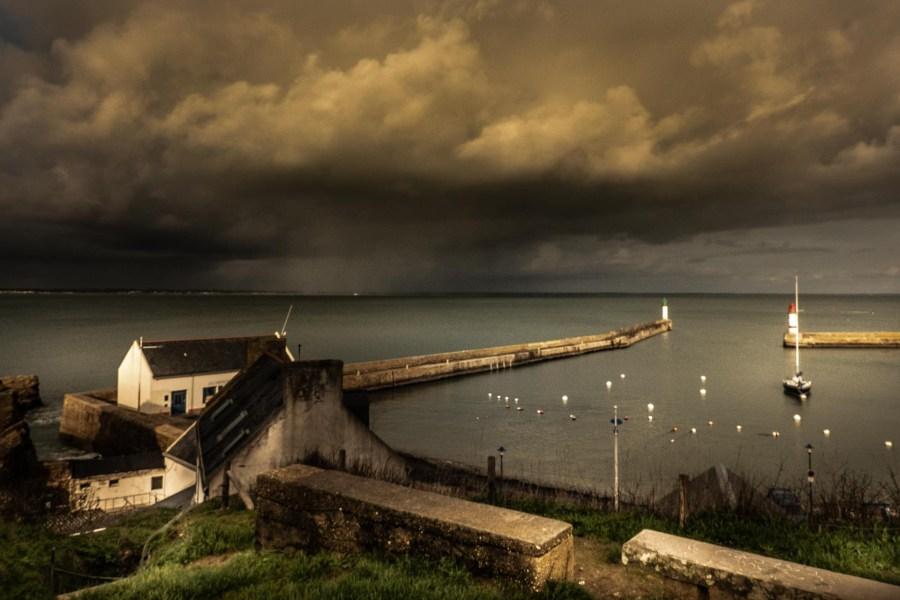 photographie Hocine Saad / Douarnenez/ le port