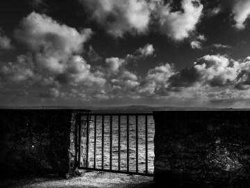 Noir et blanc 01/photographie Hocine Saad / ambiance du port rhu
