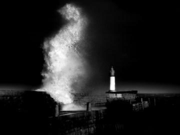 photographie Hocine Saad / Douarnenez/ Vague 02