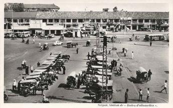 Saïgon : Station de « Boîtes d'allumettes ».