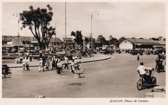 Saïgon : Place Eugène Cuniac