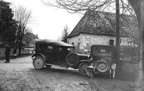 Accident de voitures, Collection Bondier-Lecat