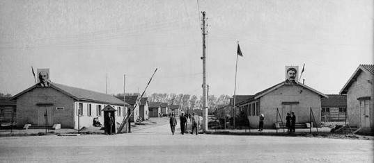 Le camp de Creysse en 1945
