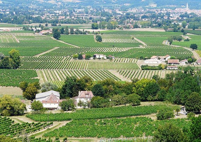 Le vignoble du Bergeracois