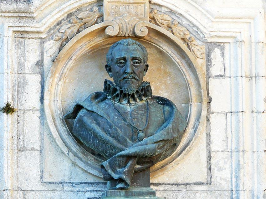 Pierre-de-Bourdeille-dit-Brantome-buste